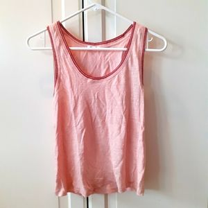 Rag and bone womens small pink tank top